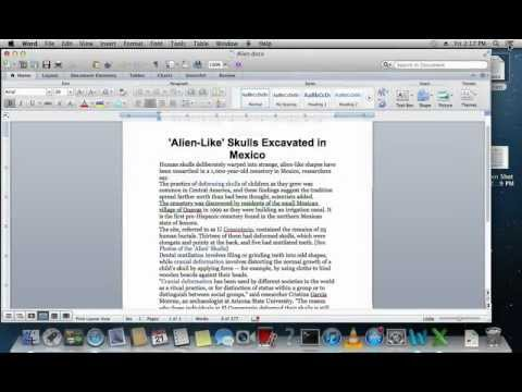 How to Save Word Document as Picture on Mac