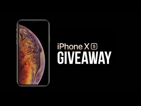 iPhone XS International Giveaway!