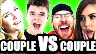 COUPLE vs COUPLE IN PROP HUNT! (GMod Prop Hunt)