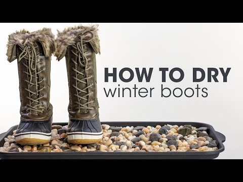 Ways to Dry Winter Boots
