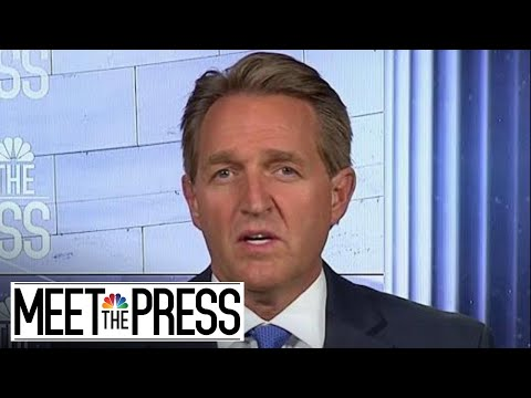 Flake: 'Behind The Scenes There Is A Lot Of Alarm' Among GOP In Congress | Meet The Press | NBC News