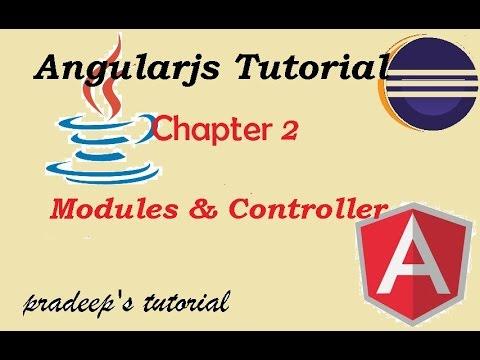 Angularjs modules and controller | AngularJS scope