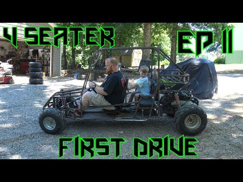 4 Seater Go Kart Build Ep 11 ~ She is alive!!!
