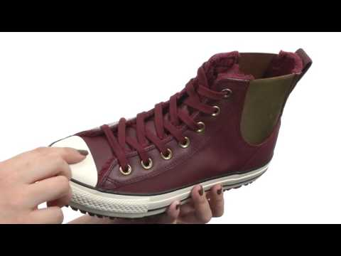 0bd4f3c8fb90df Converse Chuck Taylor® All Star® Leather + Fur Chelsea Boot SKU 8752173