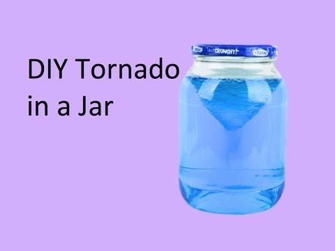 DIY Tornado in a Jar
