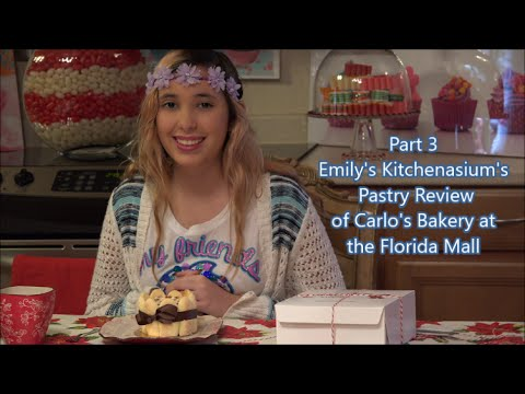 Kitchenasium's Carlo's Bakery Review Part 3 Florida Mall Opening Day
