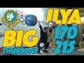 Download  Big Thursday: Ilya Ilyin 170kg Snatch 215kg Clean And Jerk Training Session  MP3,3GP,MP4