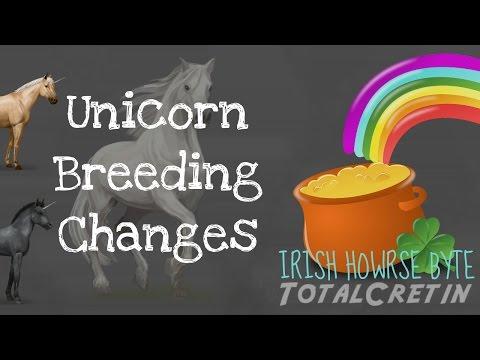 Unicorn Breeding Changes (3rd May 2017) - Irish Howrse Byte