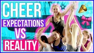 CHEERLEADING Expectations vs. Reality w/ Avrey Ovard!