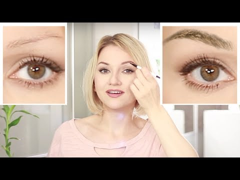 HOW TO GROW BROWS BACK - My 1 MONTH CHALLENGE