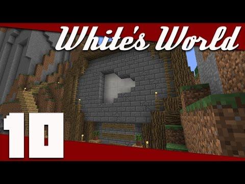 Minecraft: White's World - 010 - Subscriber Monument! | Minecraft 1.11 Survival Singleplayer