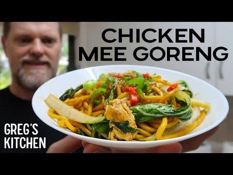 How to Make Chicken Mee Goreng - Greg's Kitchen Asian Recipes
