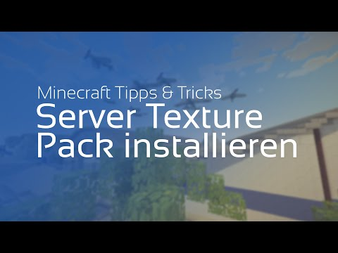 Minecraft Server Texture Pack installieren