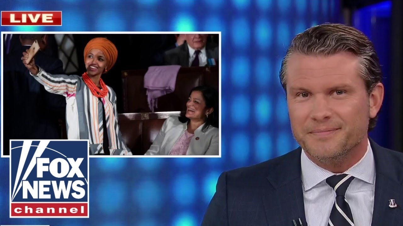 Pete Hegseth responds to Ilhan Omar's tweet about him