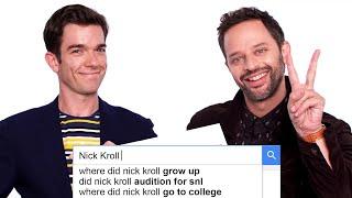 John Mulaney & Nick Kroll Answer the Web