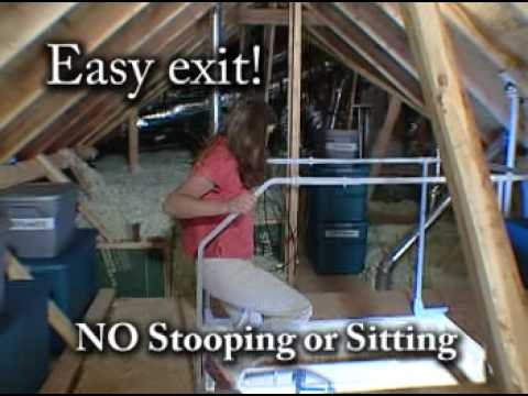 Make Your Attic Stairs Safer!