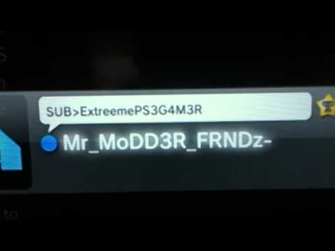 My Ps3 Account name