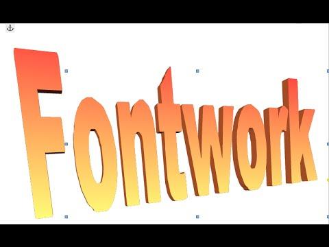 LibreOffice Writer - Fontwork