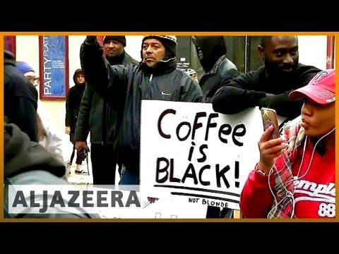 🇺🇸 Two black men arrested while waiting at Starbucks | Al Jazeera English