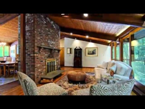 A Most Special Riverfront Contemporary in Woodridge Lake   Goshen Ct