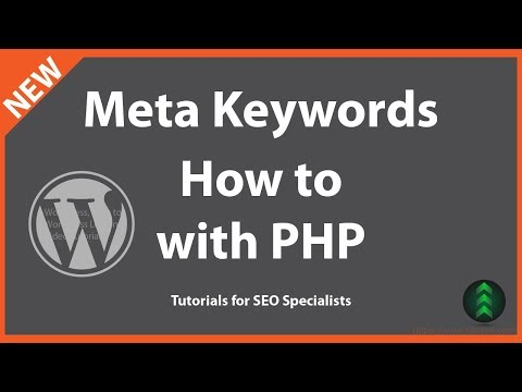 How to Add Meta Keywords to WordPress Manually Using PHP