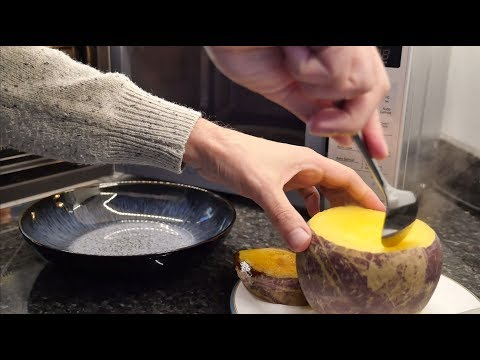 How to cook a Swede (Rutabaga) in the Microwave - great time saver, kitchen hack