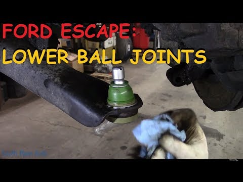 Ford Escape: Lower Ball Joints