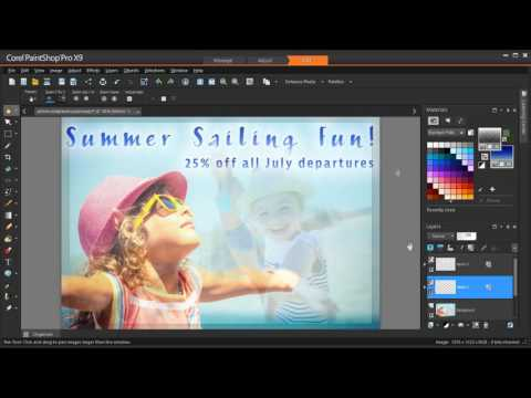 Better text, faster with PaintShop Pro's Text Presets