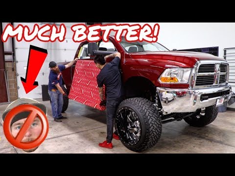 IF YOU ARE UGLY DO THIS TO YOUR TRUCK!!