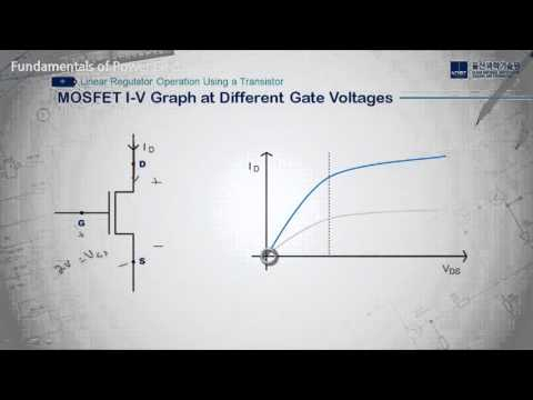 Fundamentals of Power Electronics - Linear Regulator Operation Using a MOSFET