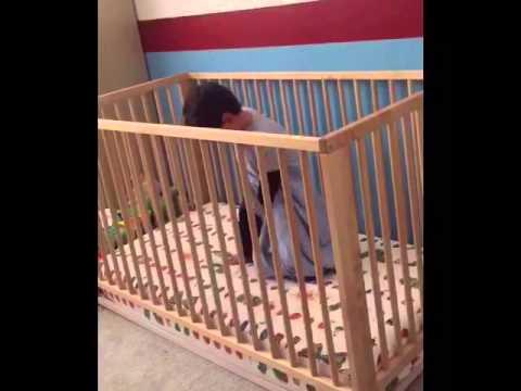 Toddler Jail Break from Crib