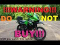 DON'T BUY A KLR650 Until You See This Review!