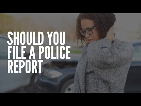 Should You File A Police Report After A Car Accident?