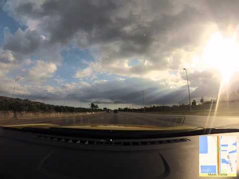 Fort Lauderdale to Key Largo (GoPro Timelapse)