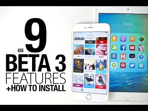 iOS 9 Beta 3 New Features Review + How To Install
