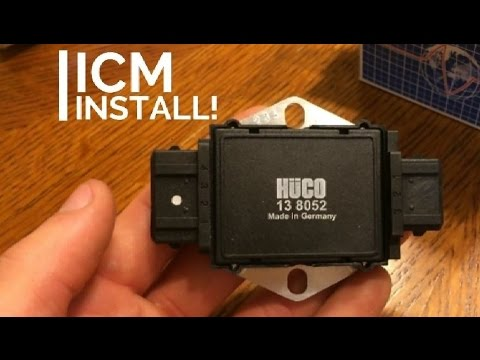 Ignition Control Module Installation Tutorial   How to   2001 Audi S4