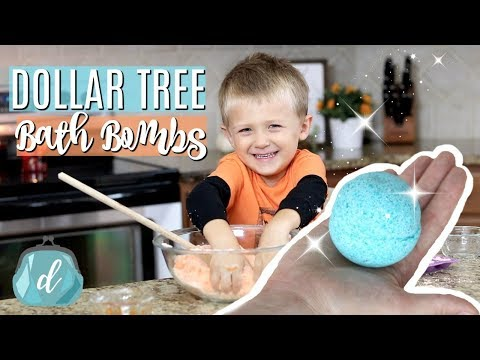 DOLLAR TREE DIY ✨ Cheap & Awesome Bath Bombs!