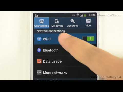 Samsung Galaxy S4: How To Forget WIFI Networks (HD Video) - Preview