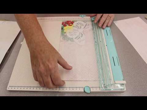 Crankin' Out Crafts -  ep532 We R Memory Keepers Cut and Trim Score Board