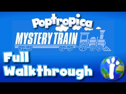 ★ Poptropica: Mystery Train FULL Walkthrough ★
