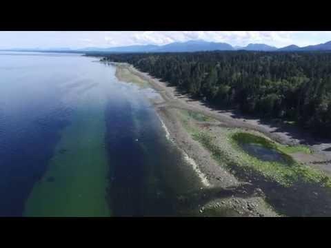 Phantom 3 Flying Vancouver island: Fly over Vancouverisland Bowser area beach Phanton 3