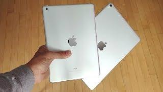 2017 iPad 9.7 vs iPad Pro 10.5!