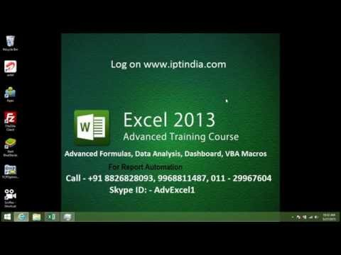 Extract Number in Cells Value - Online Excel VBA Macros Course