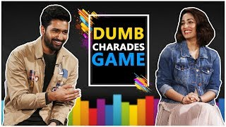 URI Actors Vicky Kaushal And Yami Gautam Played Dumb-Charades With Devansh Patel