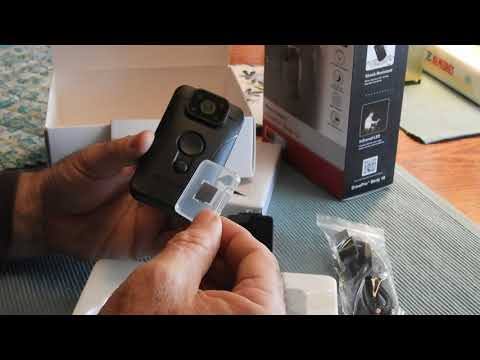 Unboxing The Transcend DrivePro Body 10 Body Camera And Comments