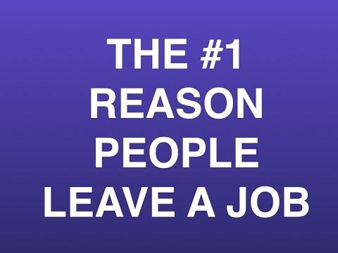 # 1 Reason People Leave a Job