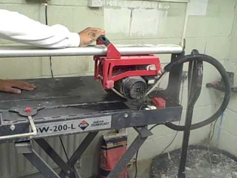 Cutting slate tiles