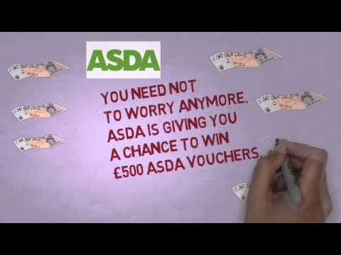 Win And Collect Your Free £500 ASDA Voucher