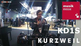 Kurzweil Kd1s - электронная ударная установка (musikmesse 2019)