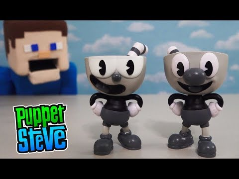 Cuphead Funko Pop Vinyl Toys Action Figure NYCC Trailer Rap Gameplay Review song Puppet Steve